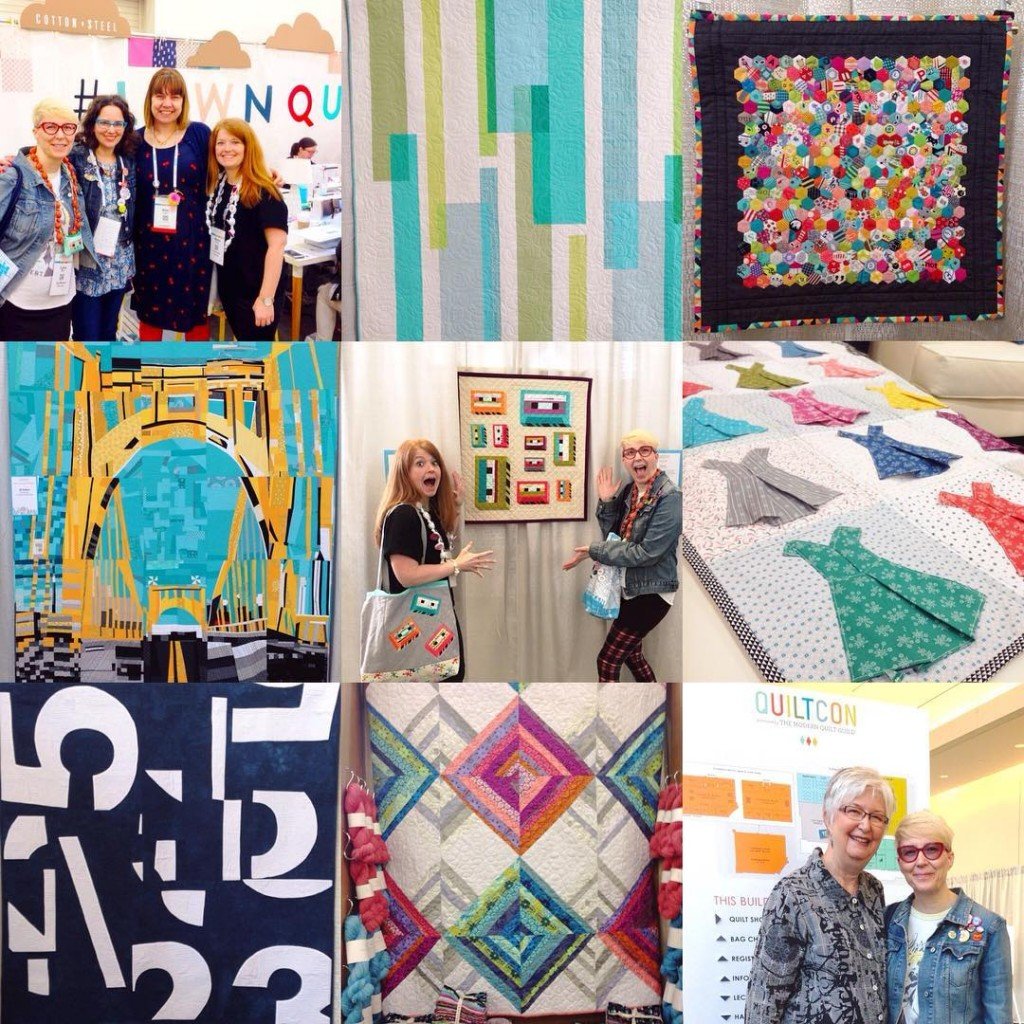 Previously on Lysa Flower Part 1: Quiltcon 2016